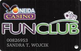 Oneida Bingo & Casino Green Bay, WI - Slot Card (reverse Upside Down) - Casino Cards