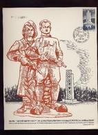 Joli Document 25ème Anniversaire De La Libération Saint Flour - Seconda Guerra Mondiale