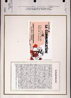 Feuillet CEF La Bande Dessinée - Carnet COMPLET - Complete Booklet With Stamps - Bandes Dessinées