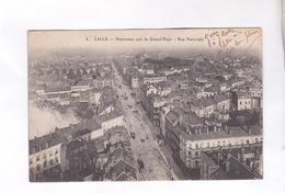 CPA  DPT 59 LILLE, PANORAMA VERS LA GRAND PLACE, - Lille