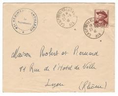 21230 - CAMP DE LA VALBONNE - Marcophilie (Lettres)