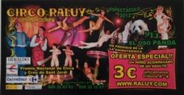 CIRCO RALUY. ZARAGOZA - ESPAÑA. - Tickets - Vouchers