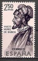 Spanien Mi.Nr. 1423 ** Vasco Nuñez De Balboa (2017565) - 1961-70 Ungebraucht