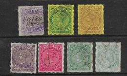 South Africa, CoGH Revenues,1d,1d,6d, 1/-, 2/-, 5/-,7'6, Low Catalogue Values, 7'6 Is Rubbed, - South Africa (...-1961)