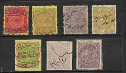 South Africa, CoGH Revenues,3d, 6d, 1/-,2'6,1d,2/-, 5/- Low Catalogue Values, - South Africa (...-1961)