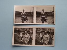 De YSBEREN ( IJS ) Kerstmiszwemfeest > 25 Dec 1929 ( Série N° 331 ) ANTWERP Stéréo - Ch. DU HOUX ( Zie / Voir Photos ) ! - Photos Stéréoscopiques