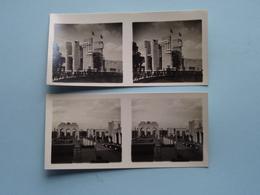 WERELDTENTOONSTELLING Antwerpen 1930 ( Série N° 401 ) ANTWERP Stéréo - Ch. DU HOUX ( Zie / Voir Photos ) ! - Photos Stéréoscopiques