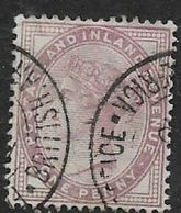 South Africa, 1d Lilac Of Gret Britain Used BRITISH ARMY  POST OFFICE SOUTH AFRICA - South Africa (...-1961)