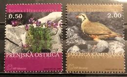Bosnia And Hercegovina, HP Mostar 2003 , Mi: 110/11 (MNH) - Gallináceos & Faisanes