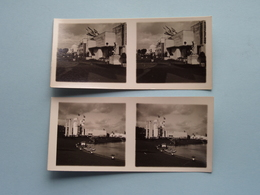 WERELDTENTOONSTELLING Antwerpen 1930 ( Série N° 405 ) ANTWERP Stéréo - Ch. DU HOUX ( Zie / Voir Photos ) ! - Photos Stéréoscopiques