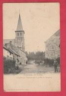 Conjoux - L'Eglise Et Avenue De La Grotte ... Personnage - 1904 ( Voir Verso ) - Ciney