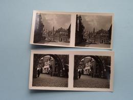 WERELDTENTOONSTELLING Antwerpen 1930 ( Série N° 409 ) ANTWERP Stéréo - Ch. DU HOUX ( Zie / Voir Photos ) ! - Photos Stéréoscopiques