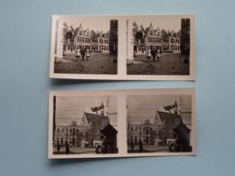 WERELDTENTOONSTELLING Antwerpen 1930 ( Série N° 410 ) ANTWERP Stéréo - Ch. DU HOUX ( Zie / Voir Photos ) ! - Photos Stéréoscopiques