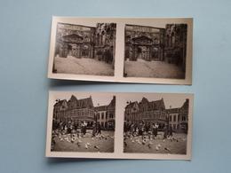 WERELDTENTOONSTELLING Antwerpen 1930 ( Série N° 411 ) ANTWERP Stéréo - Ch. DU HOUX ( Zie / Voir Photos ) ! - Photos Stéréoscopiques