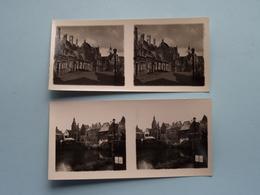 WERELDTENTOONSTELLING Antwerpen 1930 ( Série N° 412 ) ANTWERP Stéréo - Ch. DU HOUX ( Zie / Voir Photos ) ! - Photos Stéréoscopiques