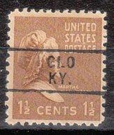 USA Precancel Vorausentwertung Preo, Locals Kentucky, Glo 729 - Vereinigte Staaten