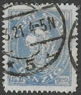 Germany, Danzig, 1921, 80pf,  Used - Used Stamps