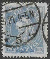 Germany, Danzig, 1921, 80pf,  Used - Germany
