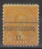 USA Precancel Vorausentwertung Preo, Locals Kentucky, Harodsburg 642-471 - Vereinigte Staaten