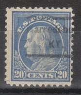 USA Precancel Vorausentwertung Preo, Locals Kentucky, Harodsburg 1917-534 - Vereinigte Staaten
