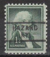 USA Precancel Vorausentwertung Preo, Locals Kentucky, Hazard 729 - Vereinigte Staaten