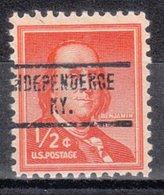 USA Precancel Vorausentwertung Preo, Locals Kentucky, Independence 734 - Vereinigte Staaten