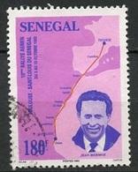 Sénégal 1993 Y&T N°1051 - Michel N°1308 (o) - 180f J Mermoz - Senegal (1960-...)