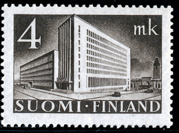 FINLAND 1930-1948 Definitive 4MK Brown, MI 221**MNH - Nuovi