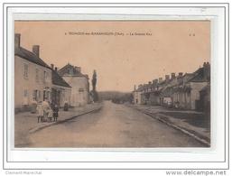 VIGNOUX SUR BARANGEON - La Grande Rue - Très Bon état - France