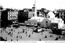 REPRO ALGER PLACE DU GOUVERNEMENT ET LA MOSQUEE REF 60734 - Algerien