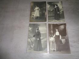 Beau Lot De 60 Cartes Photos ( Carte Photo )  Inconnu Personnes Personne   Mooi Lot Van 60 Fotokaarten  Personen - Cartes Postales