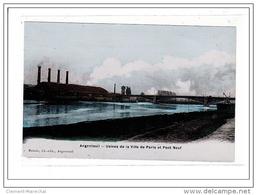 ARGENTEUIL : Usines De La Ville De Paris Et Pont Neuf - Tres Bon Etat - Argenteuil