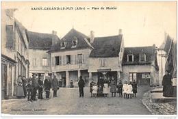 SAINT-GERAND-le-PUY : Place Du Marché - Etat - France