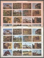 C1110 !!! IMPERFORATE,PERFORATE UMM-AL-QIWAIN FAUNA ANIMALS 2SH MNH - Timbres