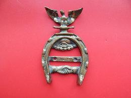 Bronze , Ornement Franc Maçonnique , 230 Gr , 135 X 85 Mm , Frais En Suivi Fr 8.55 € - Bronzes