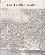 Carte  Les Fronts D'Asie -De Salonique Au Golfe Persique - Du Caucase à L'Isthme De Suez Le 22 Avril 1916 - Mappe