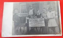 MILITARIA - Comité National De Secours Et D'Alimentation - Nationaal Hulp En Voedingskomiteit -   (carte Photo) - Humoristiques