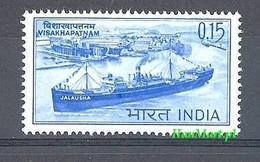 India 1965 Mi 384 MNH ( ZS8 IND384 ) - Bateaux