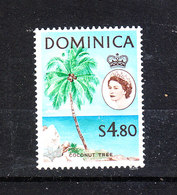 Dominica  - 1963-67. Palma. Coconut Tree. High Values Of The Ordinary Series. MNH, RARE - Alberi