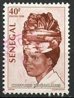 Sénégal 1998 Y&T N°1330 - Michel N°1586 (o) - 40f Coiffures Sénégalaises - Senegal (1960-...)