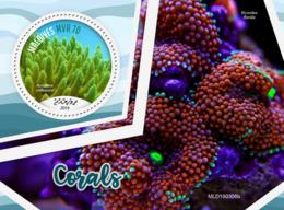 Maldives  2019  Corals S201907 - Maldives (1965-...)