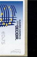 86 Europawahl ** Postfrisch, MNH, Neuf (2) - Automatenmarken (ATM/Frama)