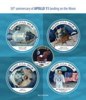 Maldives  2019 Apollo 11 Landing On The Moon ,space S201907 - Maldives (1965-...)