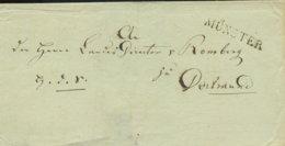~1815 MÜNSTER Bfh. N. Dortmund - Allemagne