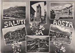 Cartoline Saluti Da....- Aosta - Saluti Da.../ Gruss Aus...