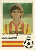 Figurina Forza Goal, Ricardo Paciocco, Lecce, Campionato Serie A 1985-1986, Ed. Perfetti - Calcio