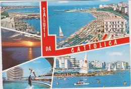 Cartoline Saluti Da....- Cattolica - Saluti Da.../ Gruss Aus...