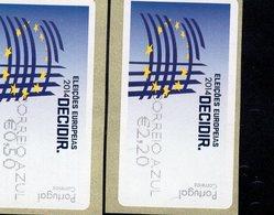 86 Europawahl Correio Azul ** Postfrisch, MNH, Neuf (4) - Automatenmarken (ATM/Frama)