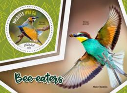 Maldives  2019 Fauna Bee-eaters, Birds  S201907 - Maldives (1965-...)