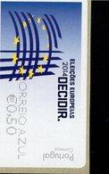 86 Europawahl Correio Azul ** Postfrisch, MNH, Neuf (6) - Automatenmarken (ATM/Frama)